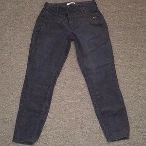 Loft curvy skinny ankle corduroy pants sz 2/26
